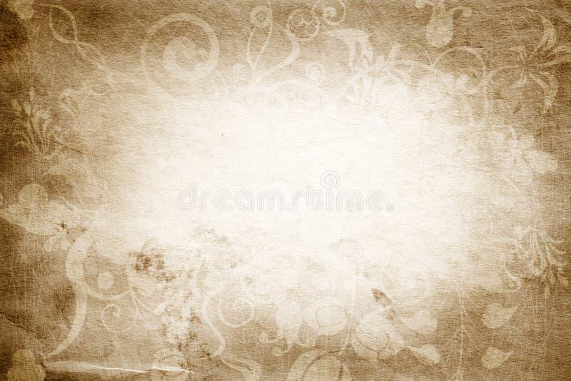 Textura do vintage foto de stock