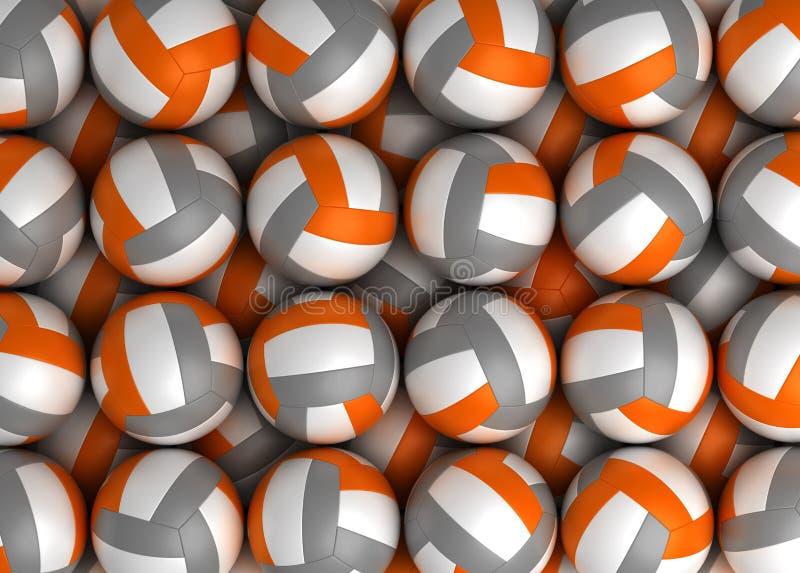 Textura do voleibol ilustração stock