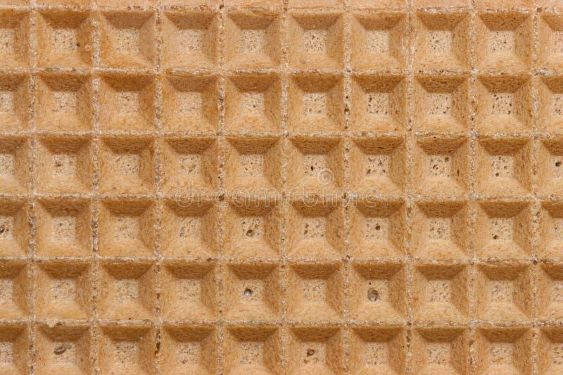 Textura do Waffle reta fotos de stock royalty free