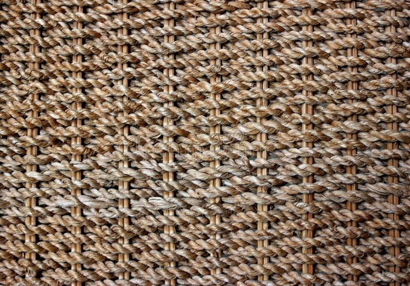 Textura Do Weave Da Palha Imagem de Stock
