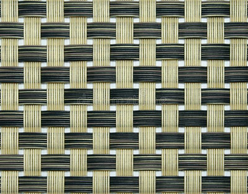 Textura do weave de cesta fotografia de stock
