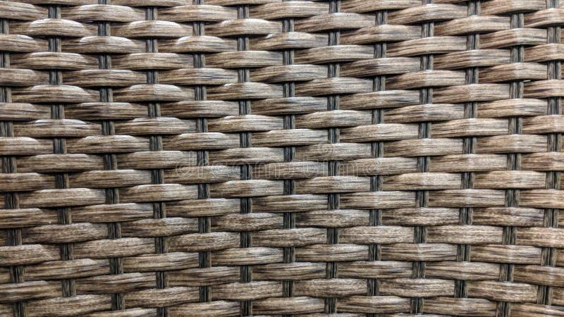 Textura do weave de cesta de vime foto de stock royalty free