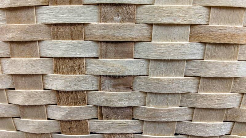 Textura do weave de cesta de vime fotos de stock