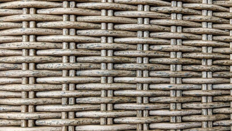 Textura do weave de cesta de vime fotografia de stock royalty free