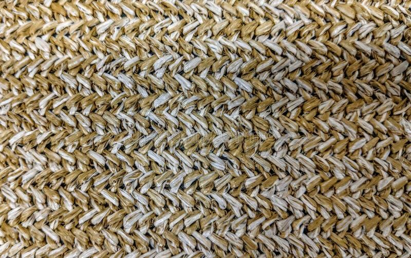 Textura do weave de cesta de vime foto de stock