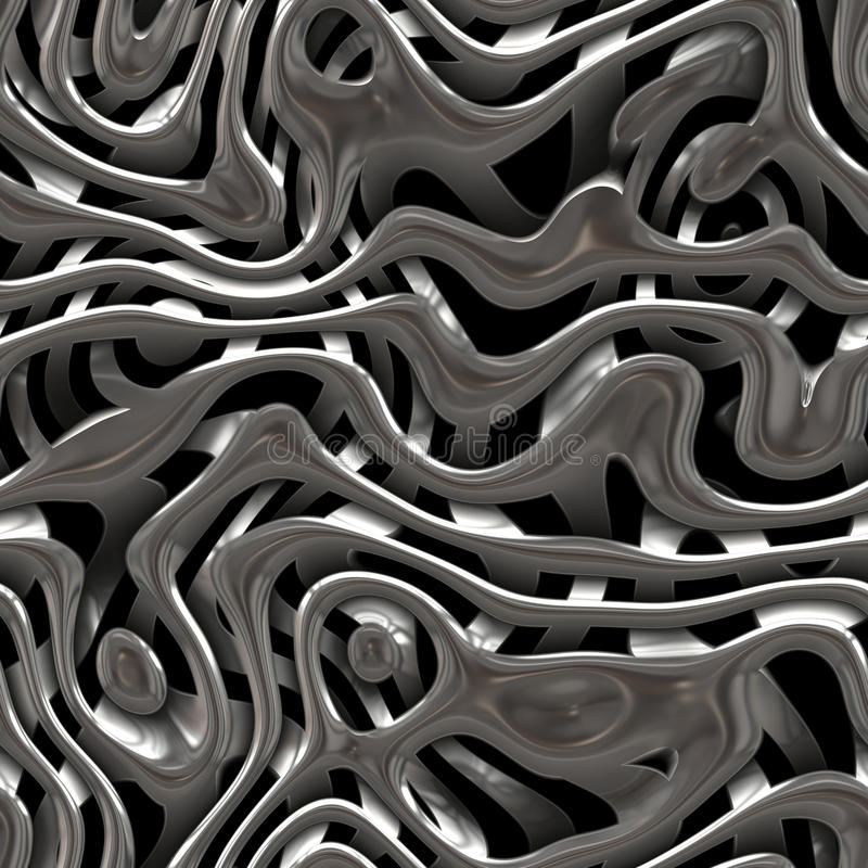 Textura do weave do metal ilustração royalty free