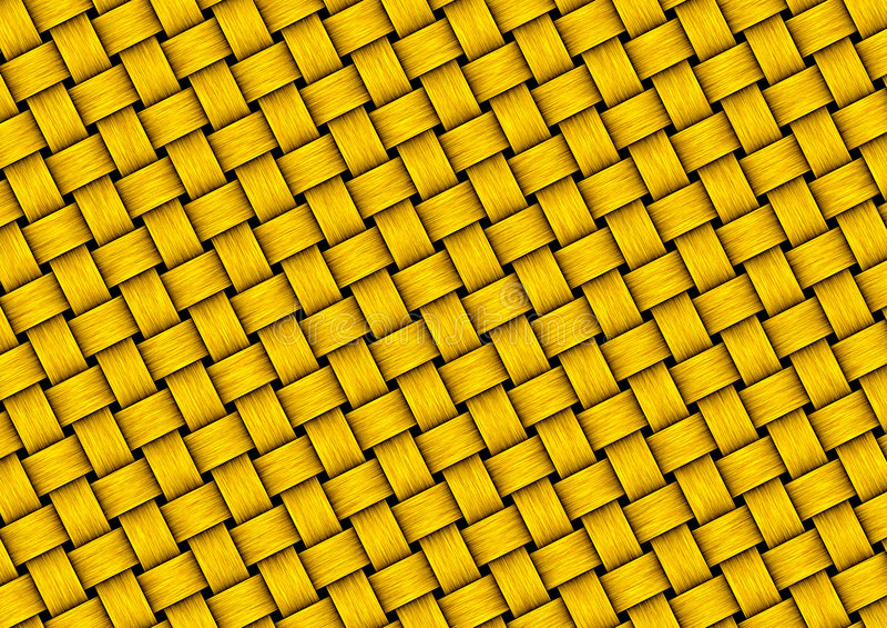 Download Textura do weave do ouro ilustração stock. Ilustração de artístico - 174303