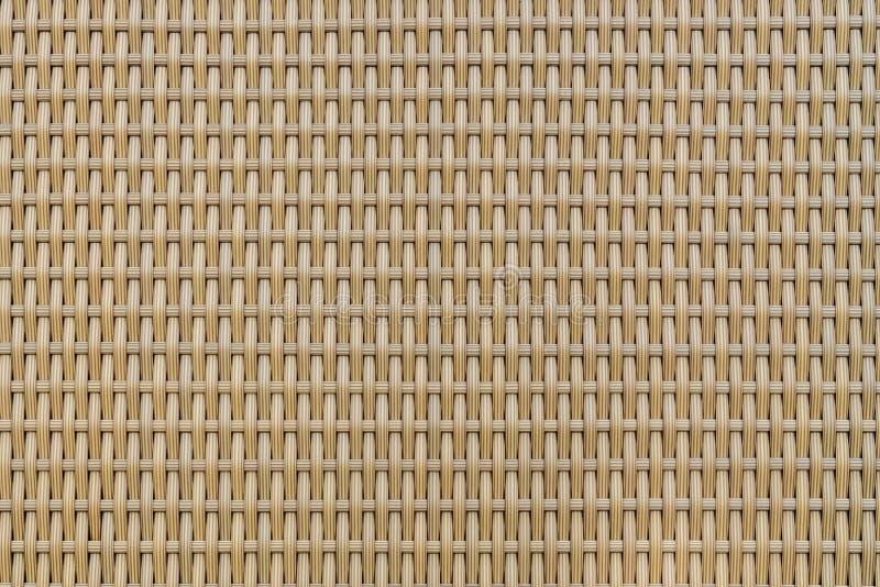 Textura do weave do Rattan imagem de stock