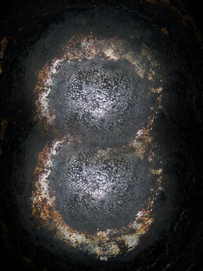 Textura dos planetas estrangeiros imagens de stock