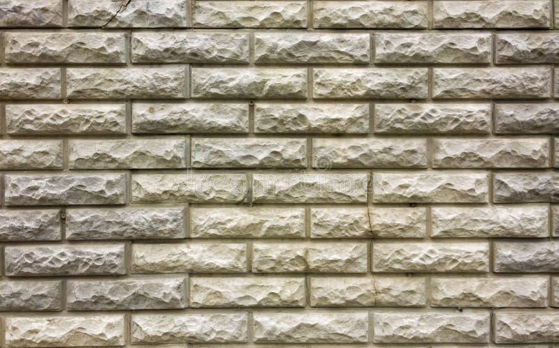 Textura dos tijolos enfrentando Teste padrão da parede de tijolo Fundo do Grunge imagens de stock royalty free