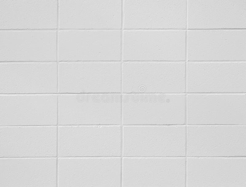Textura e fundo da parede do bloco de cimento sem emenda fotografia de stock royalty free