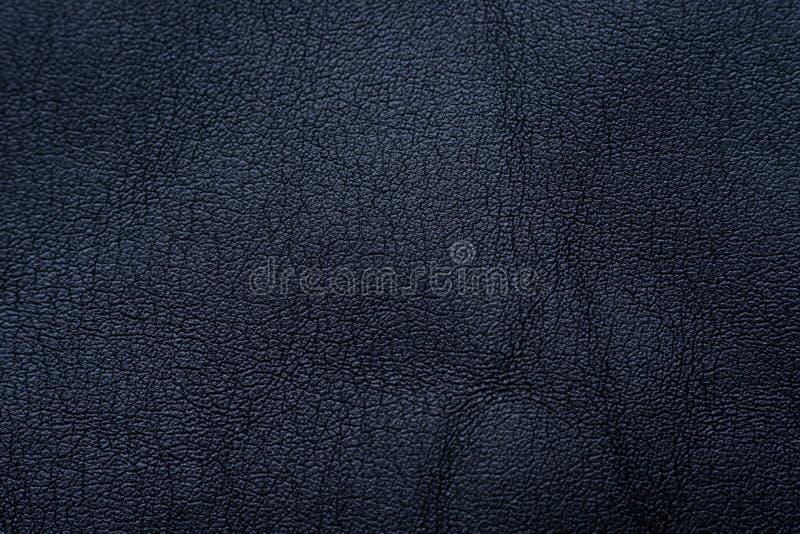 Textura e fundo de couro pretos fotos de stock