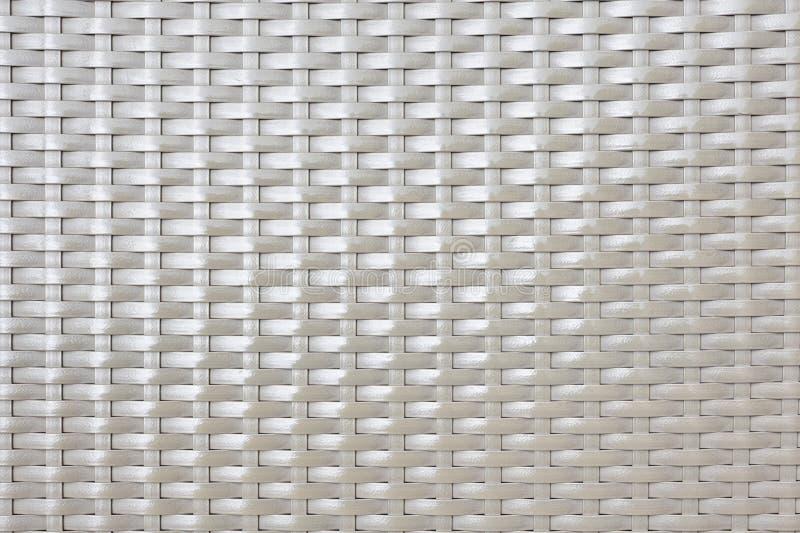 Textura e fundo sintéticos do rattan s do brilho fotos de stock royalty free