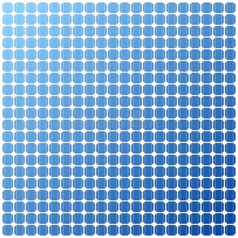 Textura eléctrica fotovoltaica del panel solar libre illustration