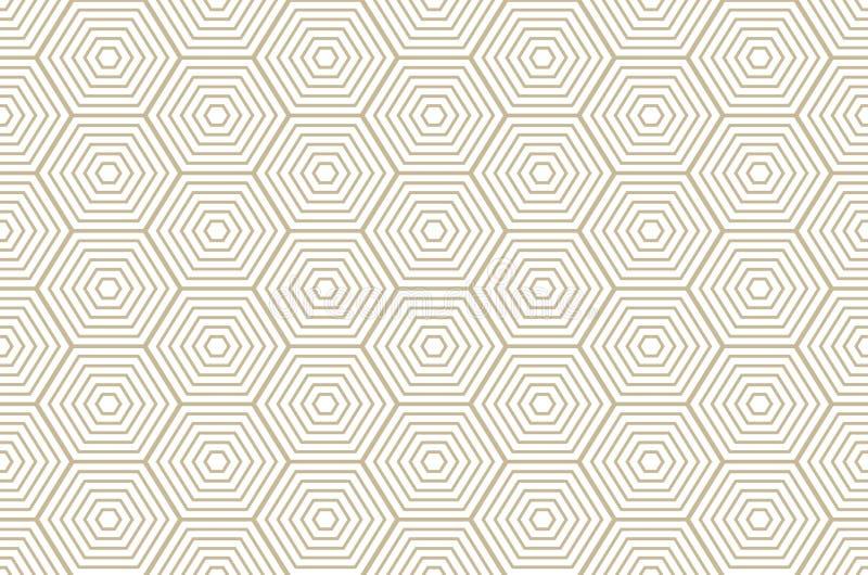 Textura elegante moderna del modelo del diamante con los Rhombus, cuadrados Vector inconsútil Repetición de las tejas geométricas libre illustration