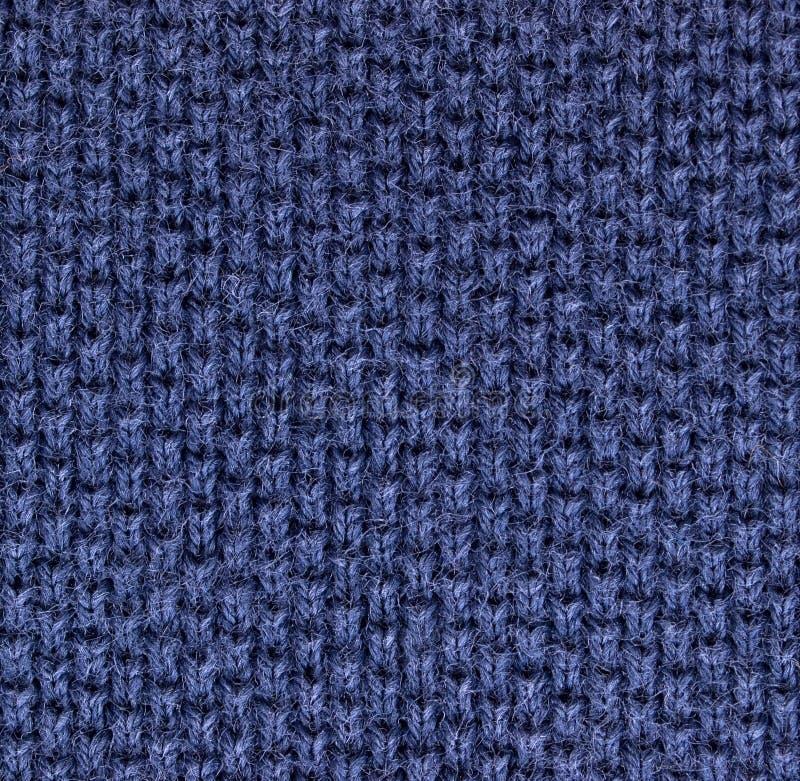 Textura elevada do knit da tela da camisa de polo da ampliação imagens de stock