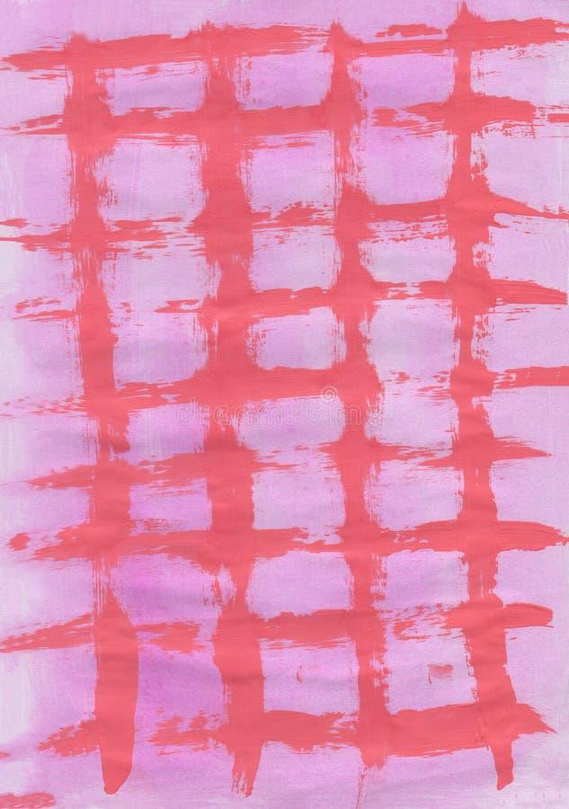 Textura em claro - malha cor-de-rosa brilhante do fundo do rosa ilustração do vetor