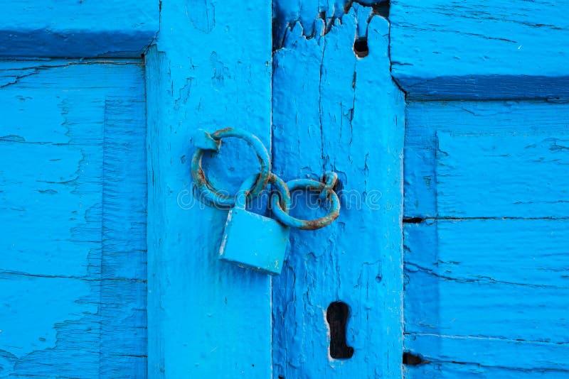 Textura en puerta vieja imagen de archivo libre de regalías