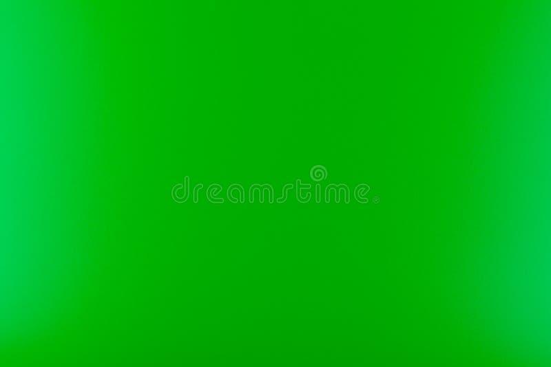 Textura en un color brillante, verde iluminado con una luz delicada fotos de archivo libres de regalías