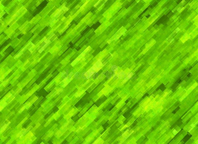 Textura enorme de la falta de definición del extracto de la hierba verde libre illustration