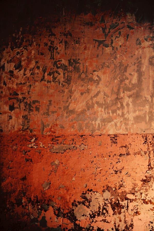 Textura envejecida de la pintura del color de rosa de la pared del grunge vieja foto de archivo libre de regalías