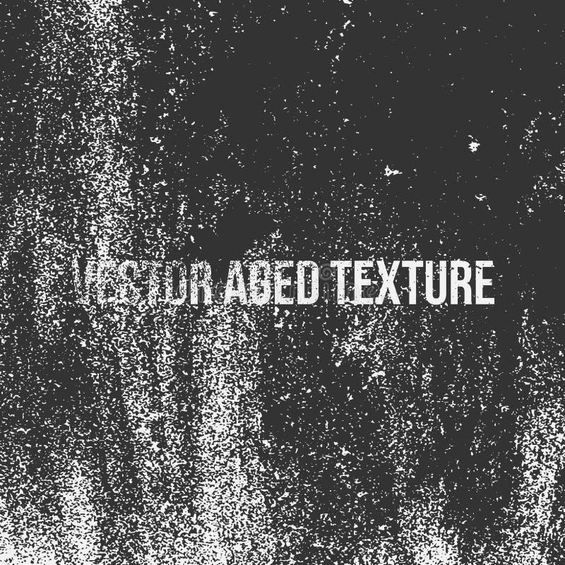Textura envejecida vector ilustración del vector