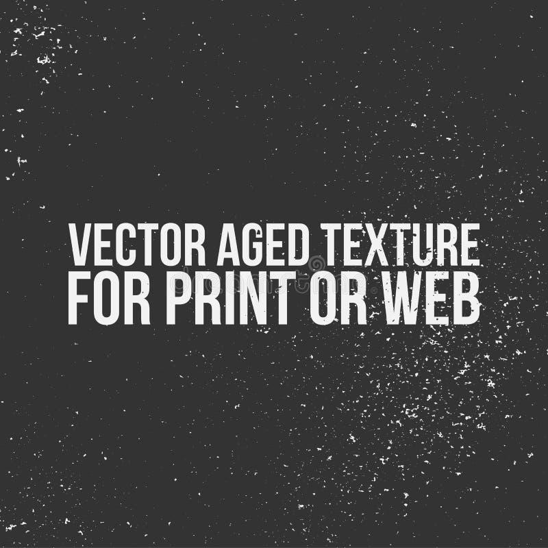 Textura envelhecida vetor para a cópia ou a Web ilustração stock