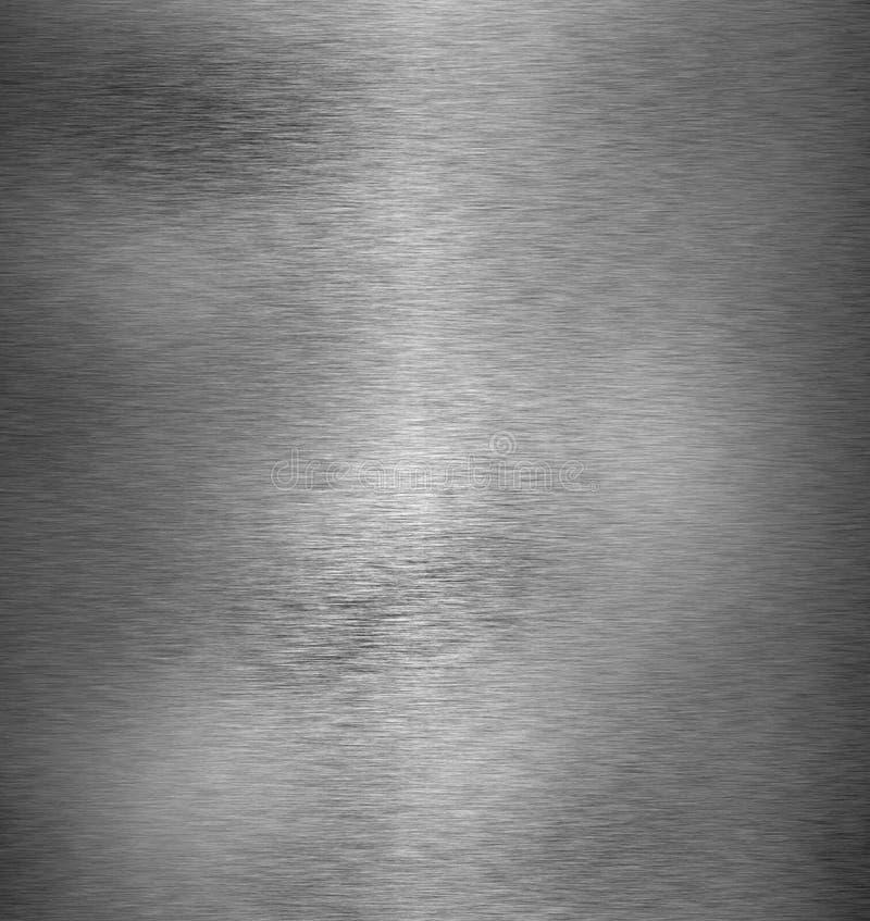 Textura escovada do metal ilustração do vetor