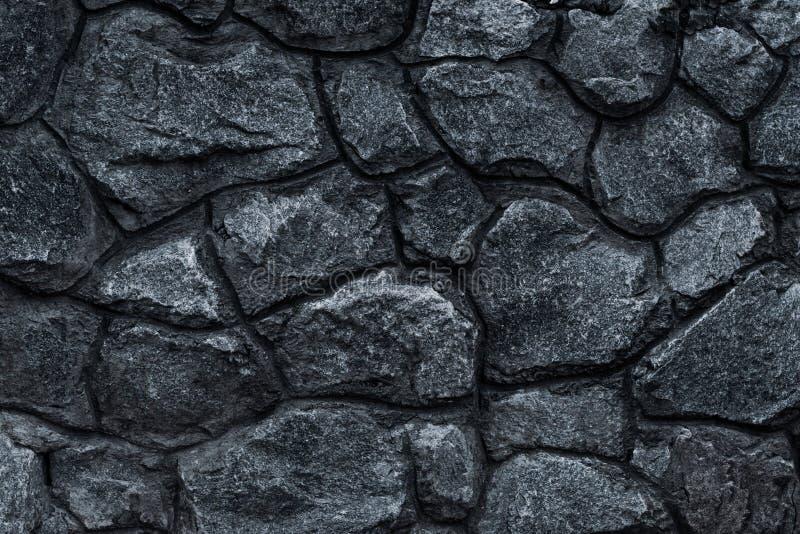 Textura escura da parede de pedra Fundo da textura da parede do cimento Fundo escuro da pedra da ard?sia da textura preta Textura foto de stock
