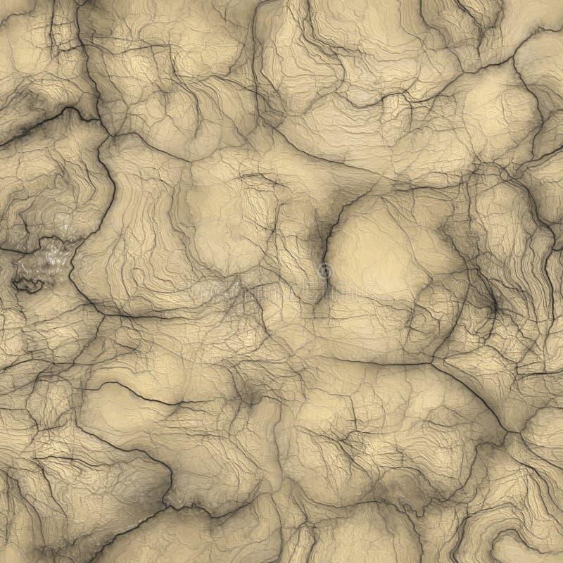 Textura extranjera de la piel stock de ilustración