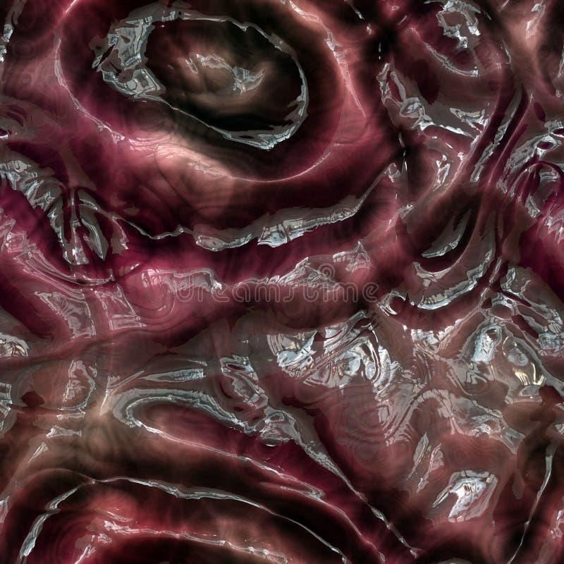 Textura extranjera inconsútil de la piel libre illustration