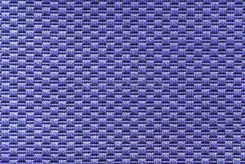 Textura feita malha do ponto de reverso de pano do bege do fio de mescla foto de stock royalty free