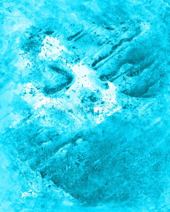 Textura feito a mão do desenho de lavagem do Watercolour Imagem bonito para o diff fotos de stock