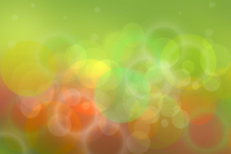 Textura festiva colorida brilhante do fundo do bokeh do sumário da decoração do ano novo feliz ilustração do vetor