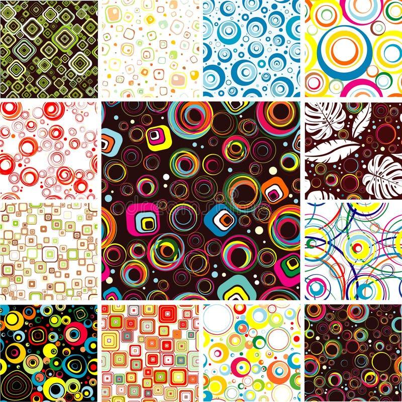 Textura festiva inconsútil ilustración del vector
