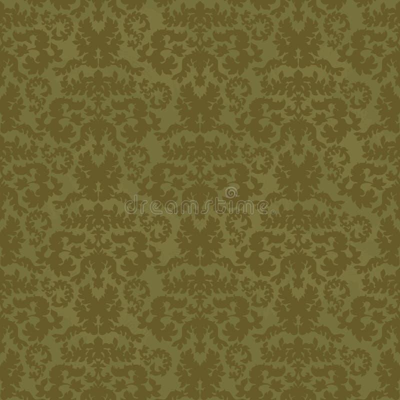 Textura floral ilustración del vector
