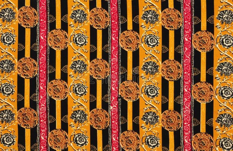 Textura floral da tela imagem de stock