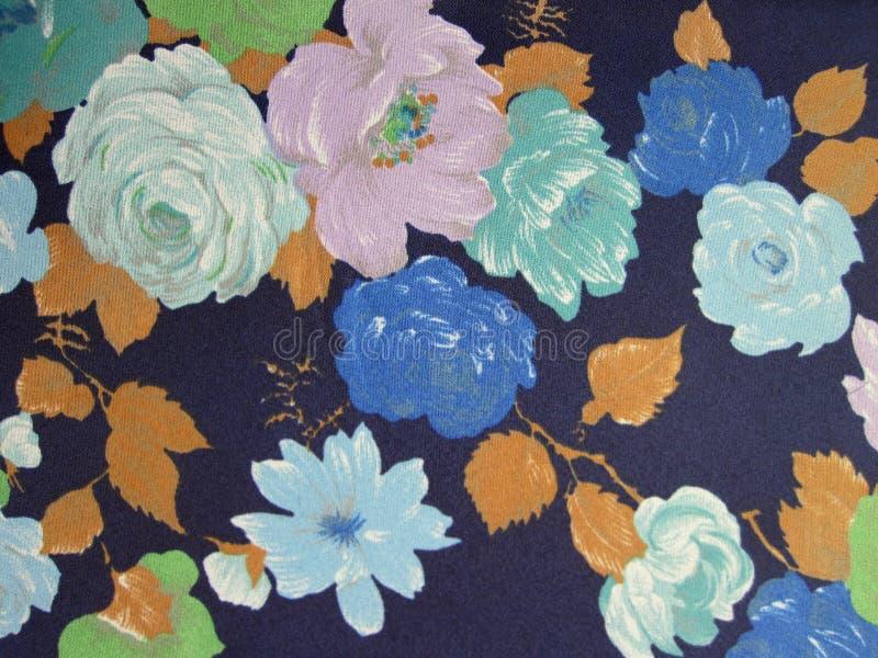Textura floral de la tela imagen de archivo libre de regalías