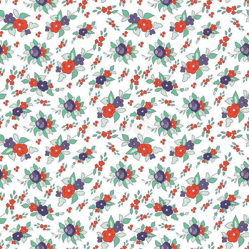 Textura floral sin fin libre illustration