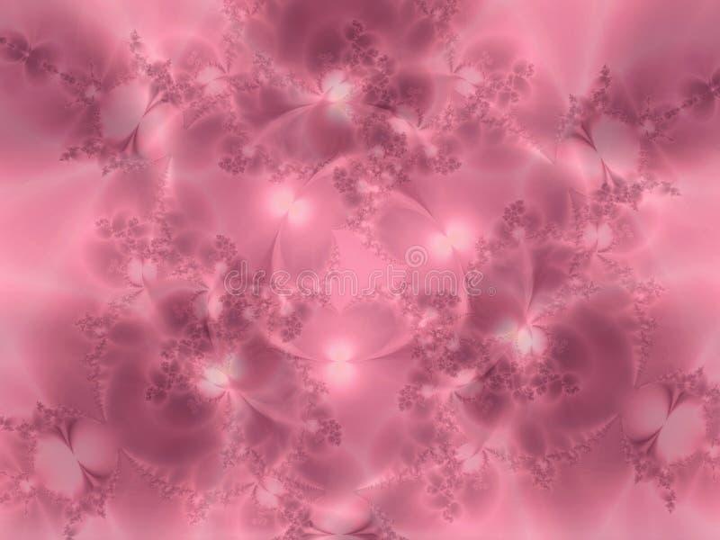 Textura florida rosada suave stock de ilustración