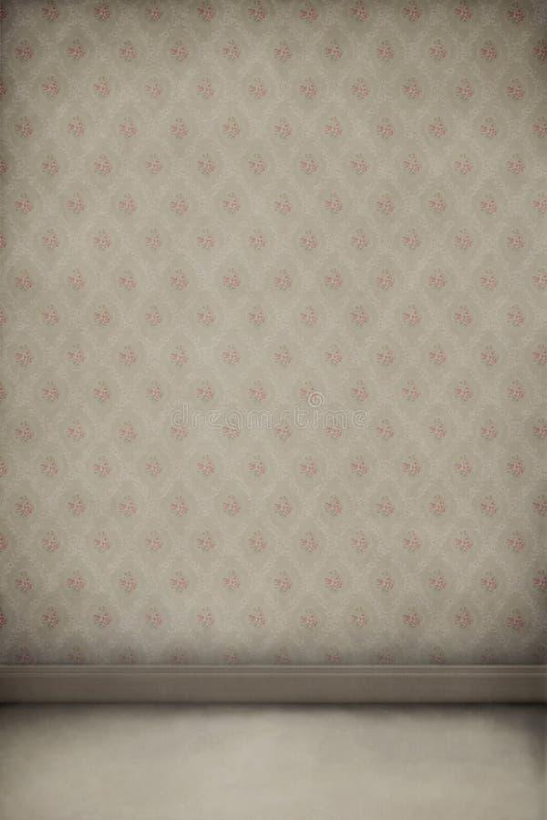 Textura, fondo de la vendimia, papel pintado, sitio. ilustración del vector