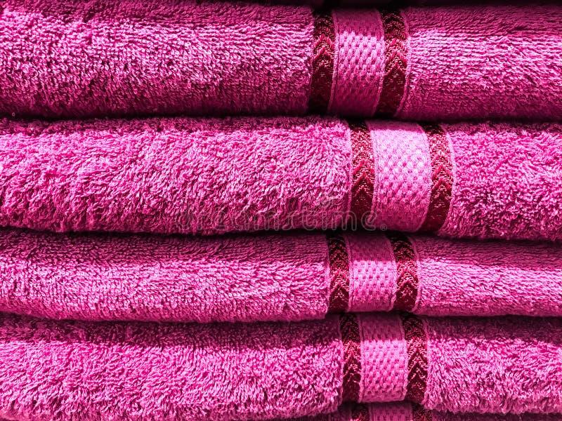 Textura, fondo de las toallas de Terry imágenes de archivo libres de regalías