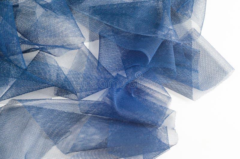 Textura, fondo, modelo Blue Ribbon en una pequeña rejilla wide imagenes de archivo