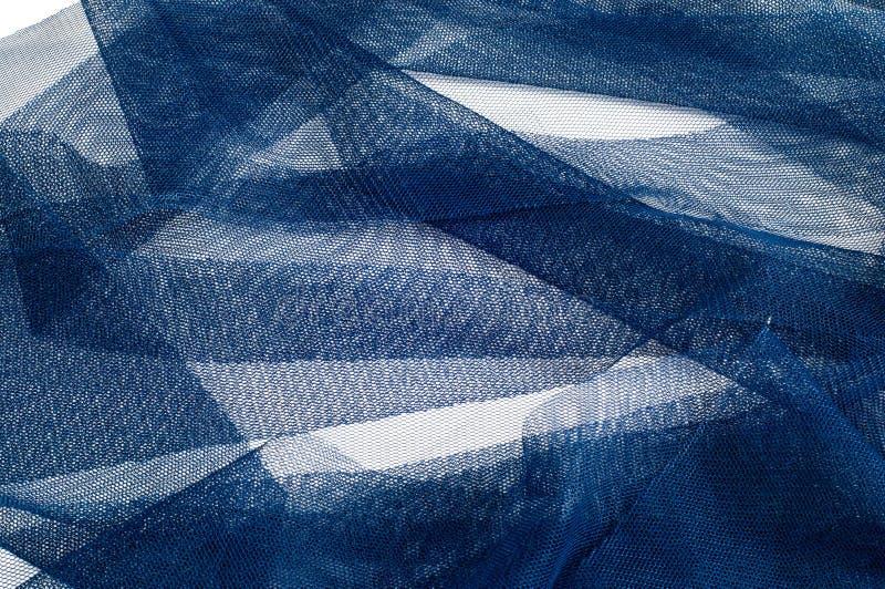 Textura, fondo, modelo Blue Ribbon en una pequeña rejilla wide fotos de archivo