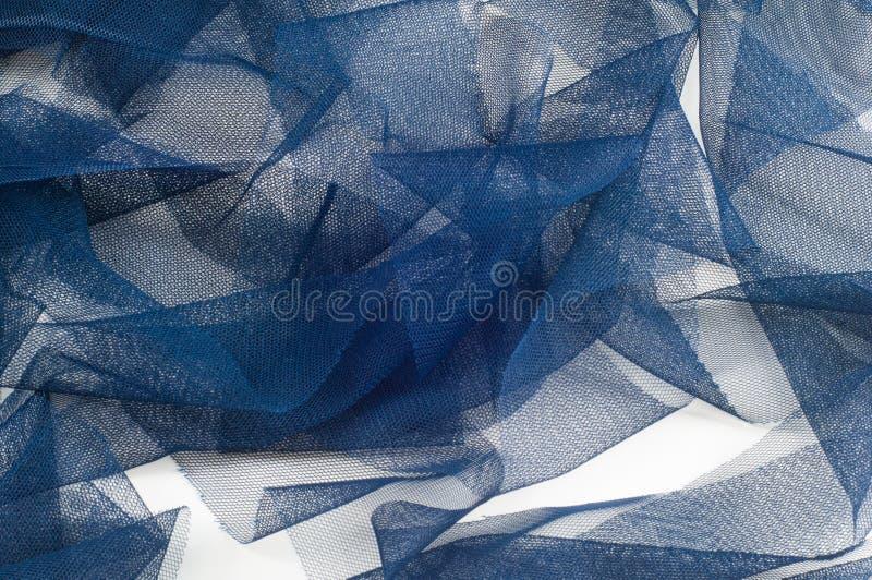 Textura, fondo, modelo Blue Ribbon en una pequeña rejilla wide fotografía de archivo