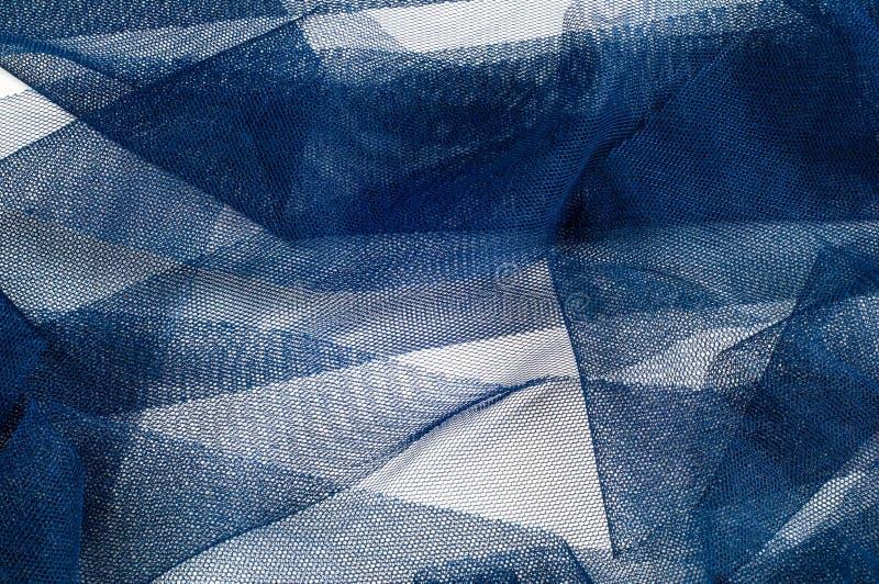 Textura, fondo, modelo Blue Ribbon en una pequeña rejilla wide imagen de archivo