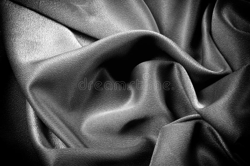 Textura, fondo modelo El paño de la escuela es negro, gris imagen de archivo libre de regalías
