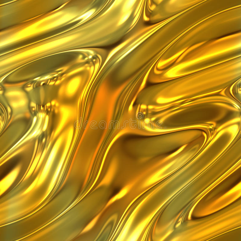 Textura fundida del oro libre illustration