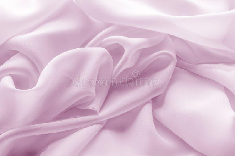 Textura, fundo, teste padrão Tela de seda pálida - FO cor-de-rosa, abstratas foto de stock royalty free