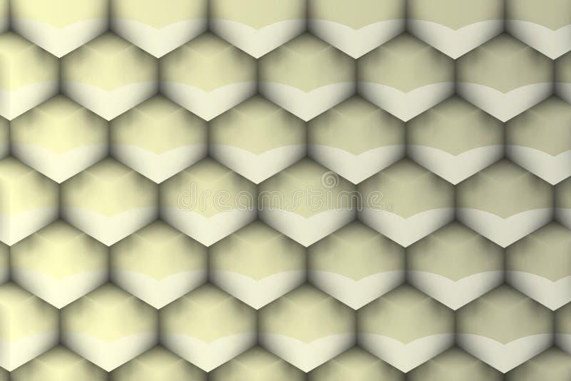Textura futurista com sombras macias ilustração do vetor